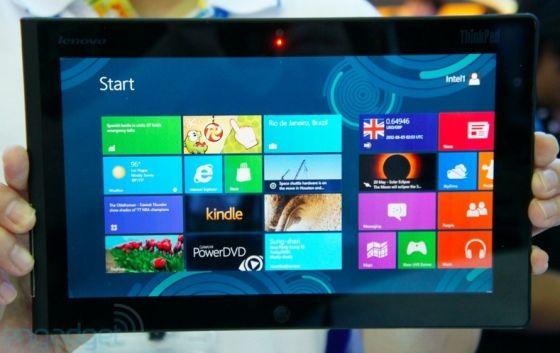Lenovo ThinkPad Tablet with Windows 8