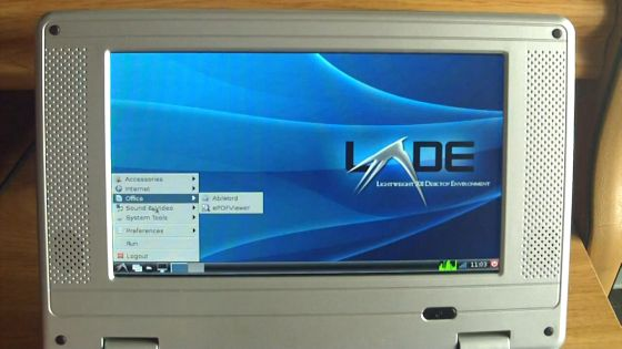 WM8650 netbook with Arch Linux