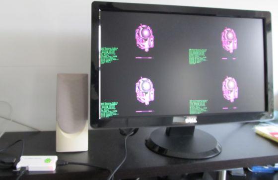 ClockworkMod Recovery MK802