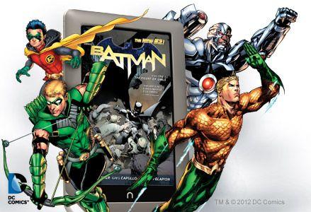 NOOK DC Comics