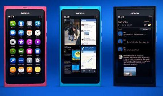 Nokia N9 with MeeGo