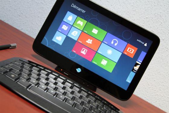 Evigroup SmartPaddle Pro with Windows 8
