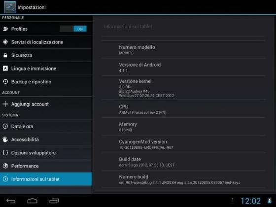 Christian Troy's CyanogenMod 10 preview for Allwinner A10
