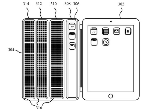 Display Cover Apple Patent Drawing