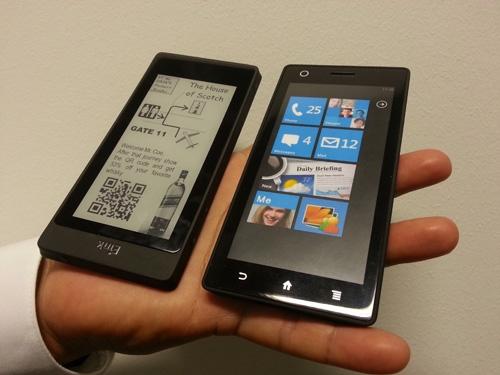 E Ink dual screen prototype
