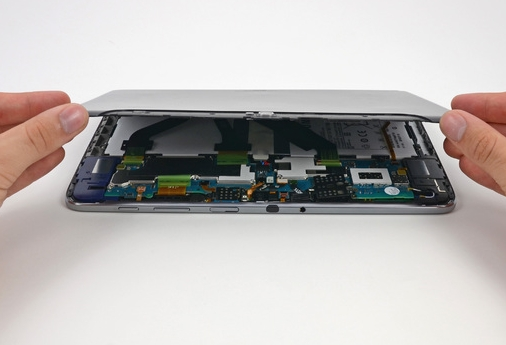 Samsung Galaxy Note 10.1 dissected