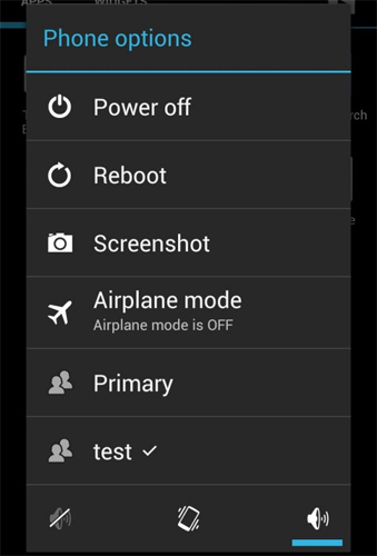 Multiple user profiles possible in Jelly Bean