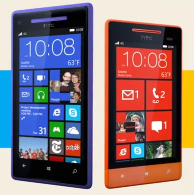 HTC 8X and HTC 8S