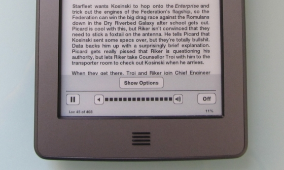 Amazon kills text-to-speech with new Kindle Paperwhite