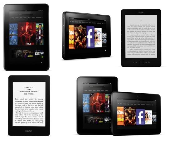 New Amazon Kindles