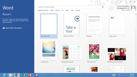 Microsoft Office 2013 RT