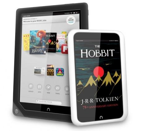 NOOK HD tablets