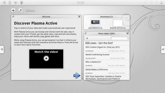 KDE Plasma Active 3