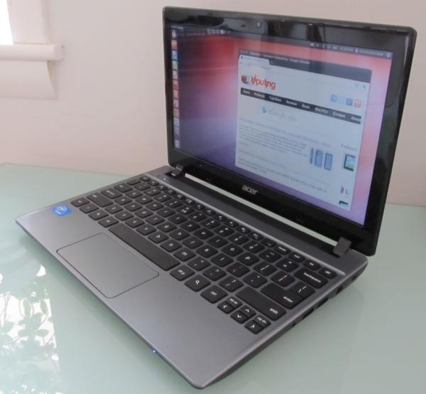 Acer C7 Chromebook with Ubuntu 12.04