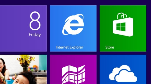 Internet Explorer 10 Metro