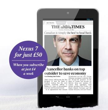 The Times Google Nexus 7