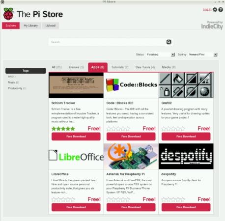 Raspberry Pi Store