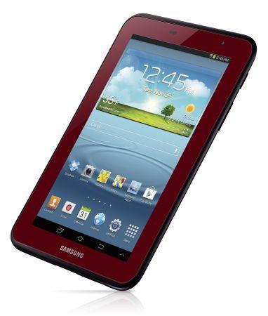 Samsung Galaxy Tab 2 7.0 red