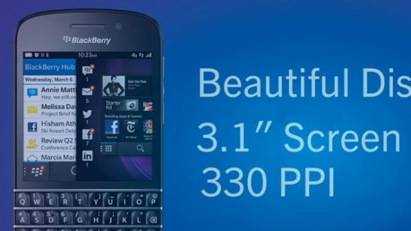 BlackBerry introduces the first BB10 phones: The BlackBerry Z10 and