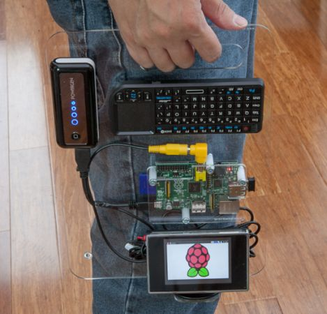 raspberry portable turning a raspberry pi into a full. Black Bedroom Furniture Sets. Home Design Ideas