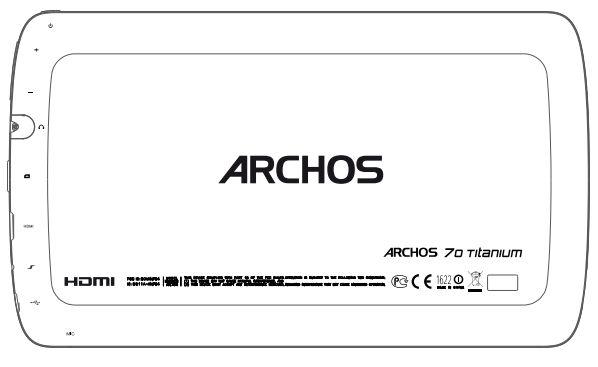 Archos 70 Titanium