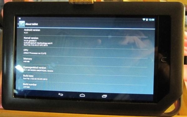 NOOK Color with CyanogenMod 10.1