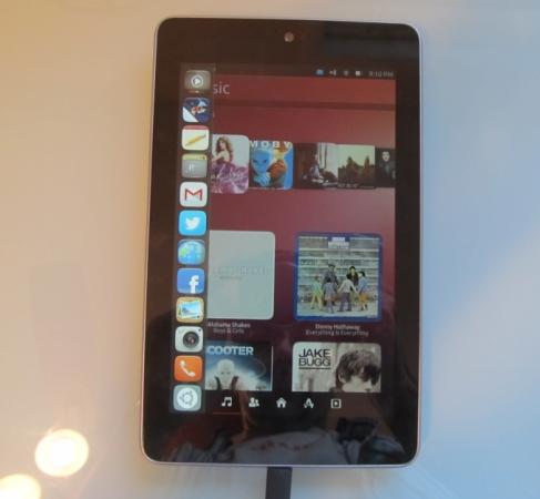 Google Nexus 7 with Ubuntu