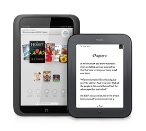 NOOK HD and Simple Touch