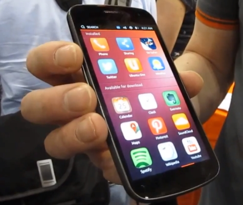 Ubuntu Phone Will Be Available for The Galaxy Nexus and Nexus 4 February 21
