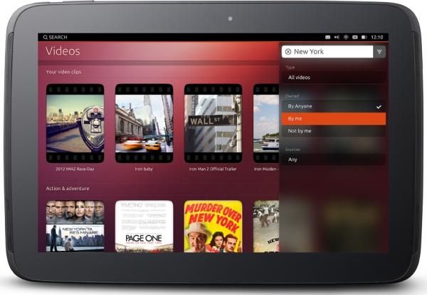 Ubuntu on tablets (Nexus 10)