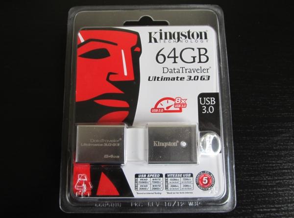 Kingston 64GB USB flash drive