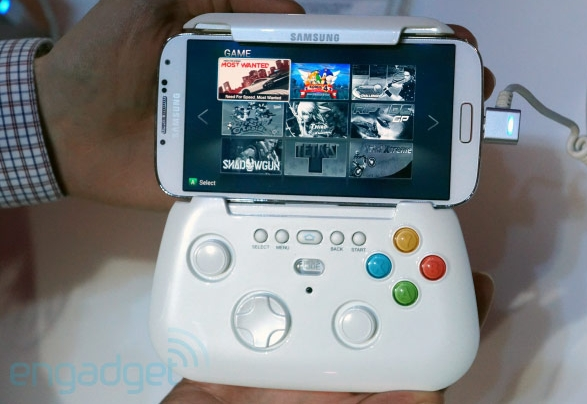 Samsung Gamepad Accessory Could Turn Phones, Tablets Into