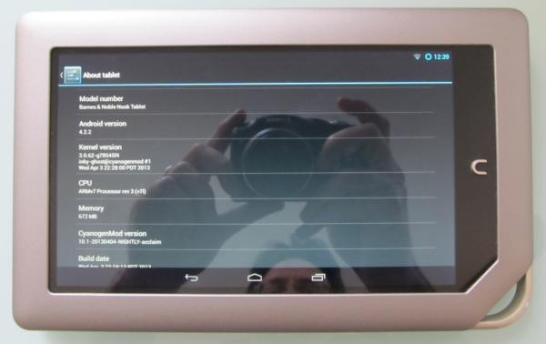 NOOK Tablet CM10.1