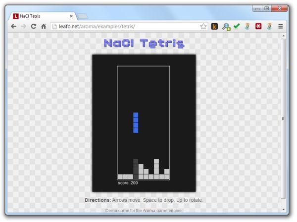 NaCL Tetris