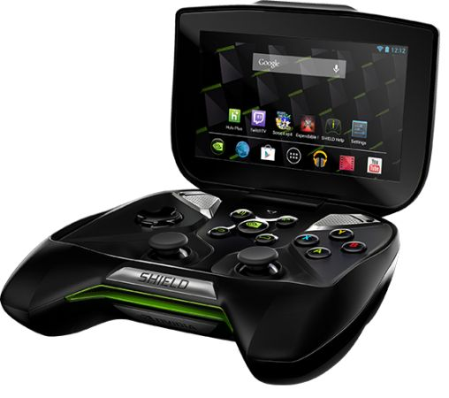 NVIDIA SHIELD handheld Android game console hits the ...