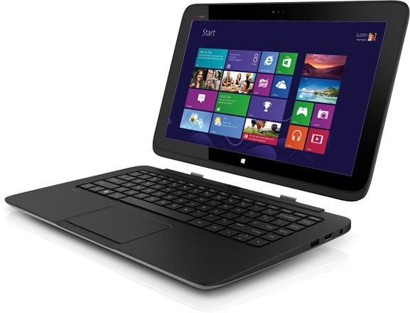 hp split x2 13 inch windows 8 notebook with detachable