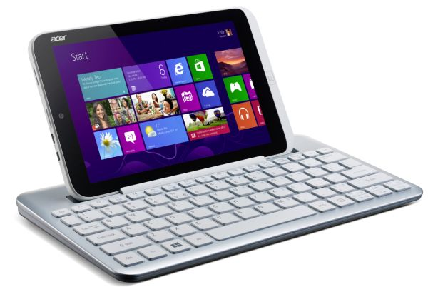 Acer Iconia W3 With Keyboard