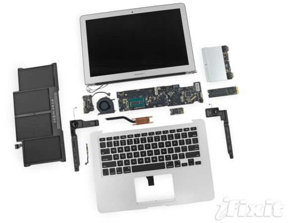 MacBook Air dissected (iFixit)