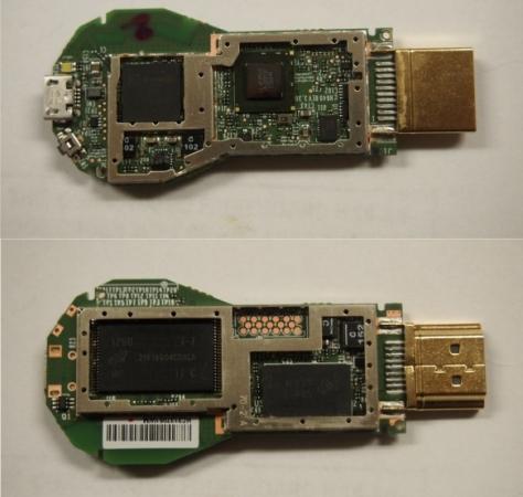 Chromecast opened