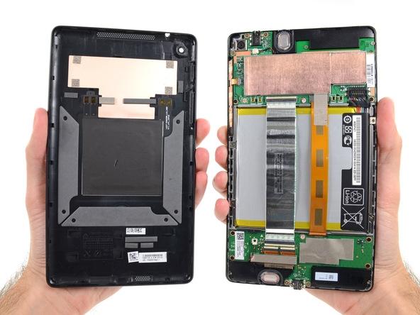 Google Nexus 7 opened up by iFixit