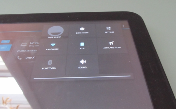 HP TouchPad with Bluetooth