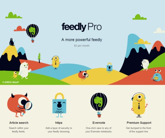 feedly pro
