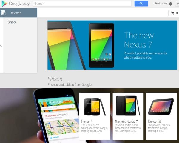 Google Nexus devices