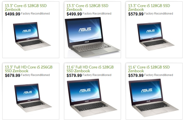Asus Zenbook sale