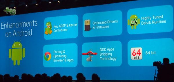 Intel Android roadmap