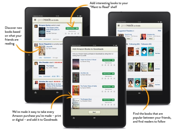kindle fire goodreads