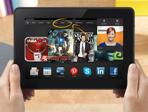 Kindle Fire HDX 8 9