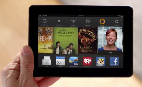 kindle fire mayday