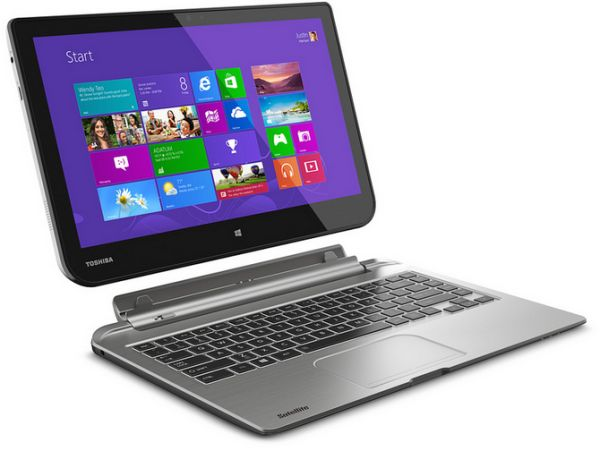 Toshiba satellite click series laptops feature detachable for Notebook tablet