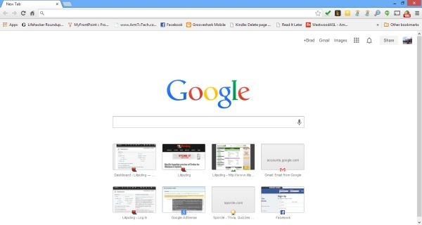 How to use google chrome s classic new tab page liliputing